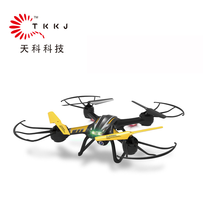 Tianke Tk107h Set High Remote-control Four-axis Aircraft Six-Axis Gyroscope Rolling Unmanned Aerial Vehicle Remote-control Drone