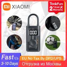 Xiaomi Mijia-bomba de aire inflable para bicicleta, compresor eléctrico rápido, presión de inflado, Hinchador para motocicleta