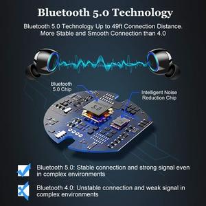 Image 3 - Tws Bluetooth Koptelefoon Hd Stereo Draadloze Oordopjes Noise Cancelling Gaming Sport Headset 2600Mah In Ear Oortelefoon Voor Telefoon