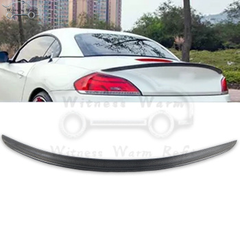 Z4 E89 Carbon Fiber Rear Wings Trunk Lip Spoiler For BMW E89 Z4 18i 20i 23i 28i 30i 35i car body kit 2009-2016 image