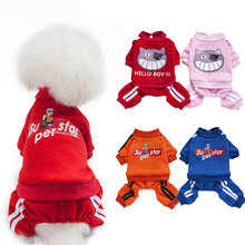 Pet Dog Clothes for Dog Winter Clothes for Small Dogs Chihuahua Costume Cute Warm Coats Jackets Pets Clothing Puppy Jumpsuits leisure cartoon chihuahua dog clothes for puppy overalls 2019 spring dog clothes for small dogs coats jackets puppies clothing