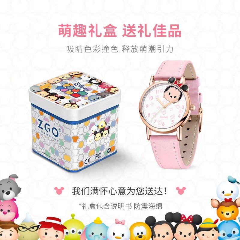 Оригинал Disney часы школьница милый девочка ребенок мультфильм Микки мышь водонепроницаемый цифровой часы дети часы девочки часы