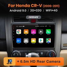 Awesafe PX9 Voor Honda CR-V 3 2006-2011 Crv Cr V Auto Radio Multimedia Video Player Gps Geen 2din 2 Din Android 10.0 2Gb + 32Gb