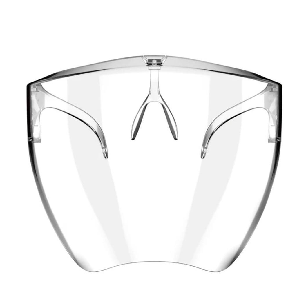Солнцезащитные очки унисекс, модный прозрачный полноразмерный экран, пластиковые солнечные очки для мужчин и женщин, 1 шт.
