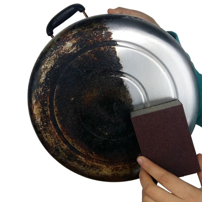 1 шт./5 шт. волшебная губка для удаления ржавчины Очищающая хлопковая салфетка для очистки кухонных инструментов кухонные аксессуары моющий...