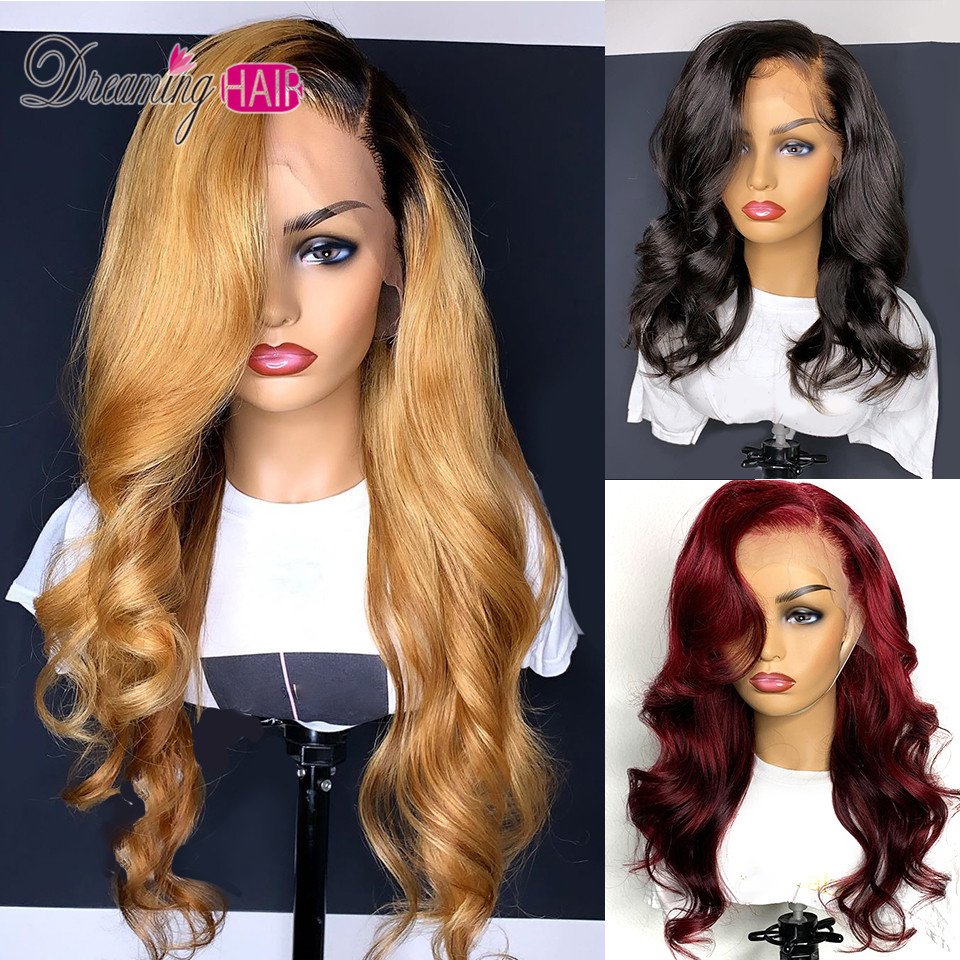 Pre Plucked Honey Blonde Lace Front Human Hair Wigs With Baby Hair For Black Women Brazilian Innrech Market.com