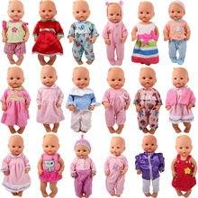 15 estilo escolher roupas de boneca caber 33-35 cm nenuco boneca nenuco su hermanita boneca acessórios