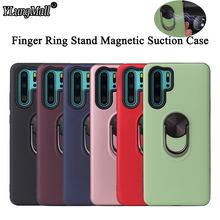 Luxury Car Magnetic Ring Case For Huawei P30 P20 Lite Mate 20 Pro Nova 3i 4 5 Y5 Y6 Y9 2019 Honor 8X Full Cover Shockproof