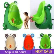 Bebê menino potty formação assento sapo crianças pote parede-montado mictório para meninos banheiros portáteis conectável tubulação de água