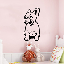 French Bulldog Wall Sticker Car Bumper Sticker Fances Dog Vinyl Decals Home Decor Wall stickers