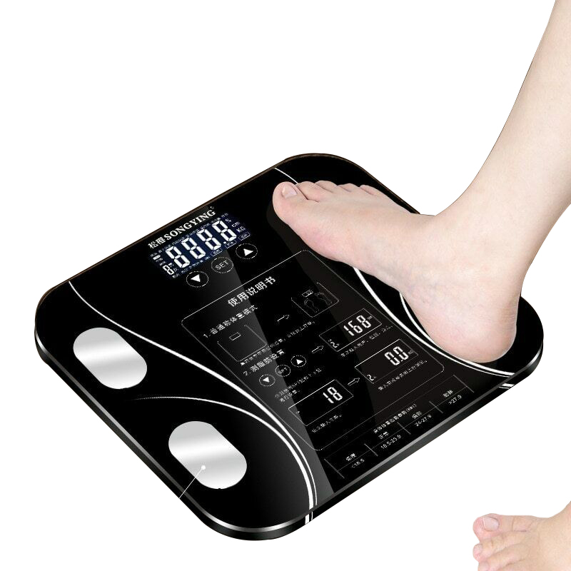 Phone-Receive Lose-Weight-Tools Fat-Floor-Scale Health-Analyzer Digital Smart-Body Fitness title=