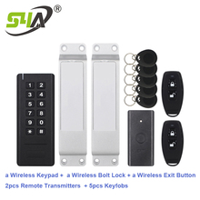 Keypad Access-Control-Kits Bolt-Lock Exit-Button Home Wireless And for Office