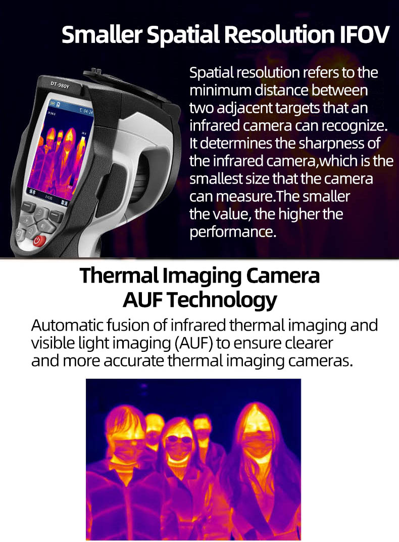 Infrared Thermal Camera With Live Streaming to Computer or TV Bluetooth For Human Body 9