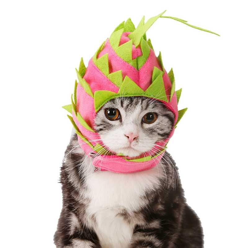 Милый праздничный костюм с головным убором для домашних животных, дизайнерская шапочка с драконом, регулируемая повязка на голову для собак, кошек, аксессуары для головы Z