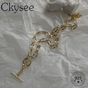 Ckysee 925 Sterling Silver Nec