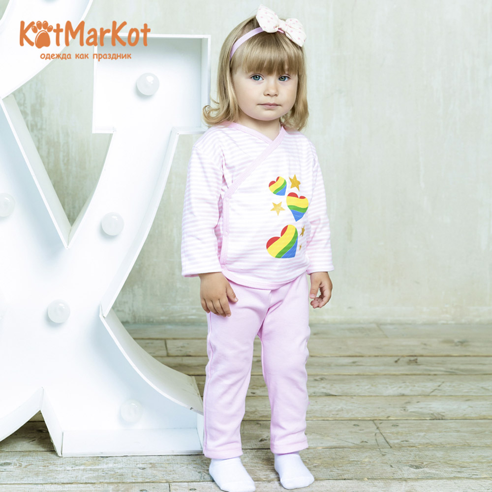 Blouses & Shirts Kotmarkot 7195р pullover jumper for boys and girls jackets Cotton