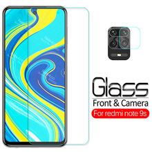 2 in 1 camera lens protective Glass For xiaomi redmi note 9s note9s note 9 s screen protector redmi note 9s Glass tempered Film