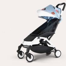 Moda przenośny wózek dziecięcy oryginalny lekki Kinderwagen składany wózek dziecięcy można zabrać do samolotu tanie tanio CN (pochodzenie) 15kg Numer certyfikatu