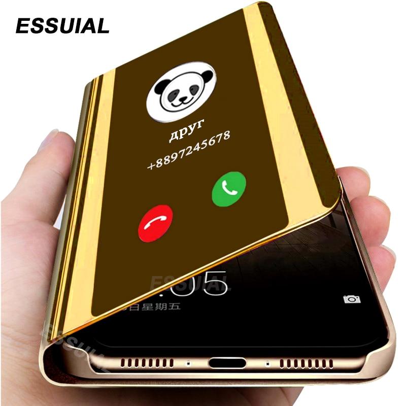 Smart Mirror Phone Case For Xiaomi Redmi Note 8 7 K30 K20 5 6 Pro 8T 8A 4X 7A 5 Plus Mi 10 Note 10 CC9 A3 Lite 9 SE 9T Pro Cover(China)