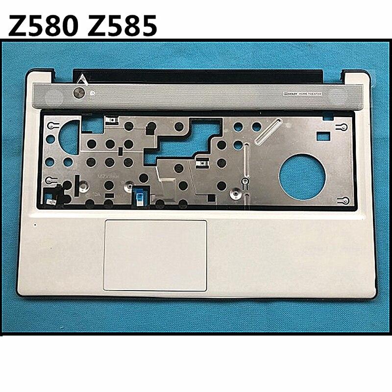 New Topcase Palmrest  Upper Cover Keyboard Cover Lower Case For Lenovo Z580 Z585 Bottom Cover Base Carcass