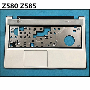 New topcase Palmrest upper Cover Keyboard Cover Lower Case For lenovo Z580 Z585 bottom cover Base Carcass(China)