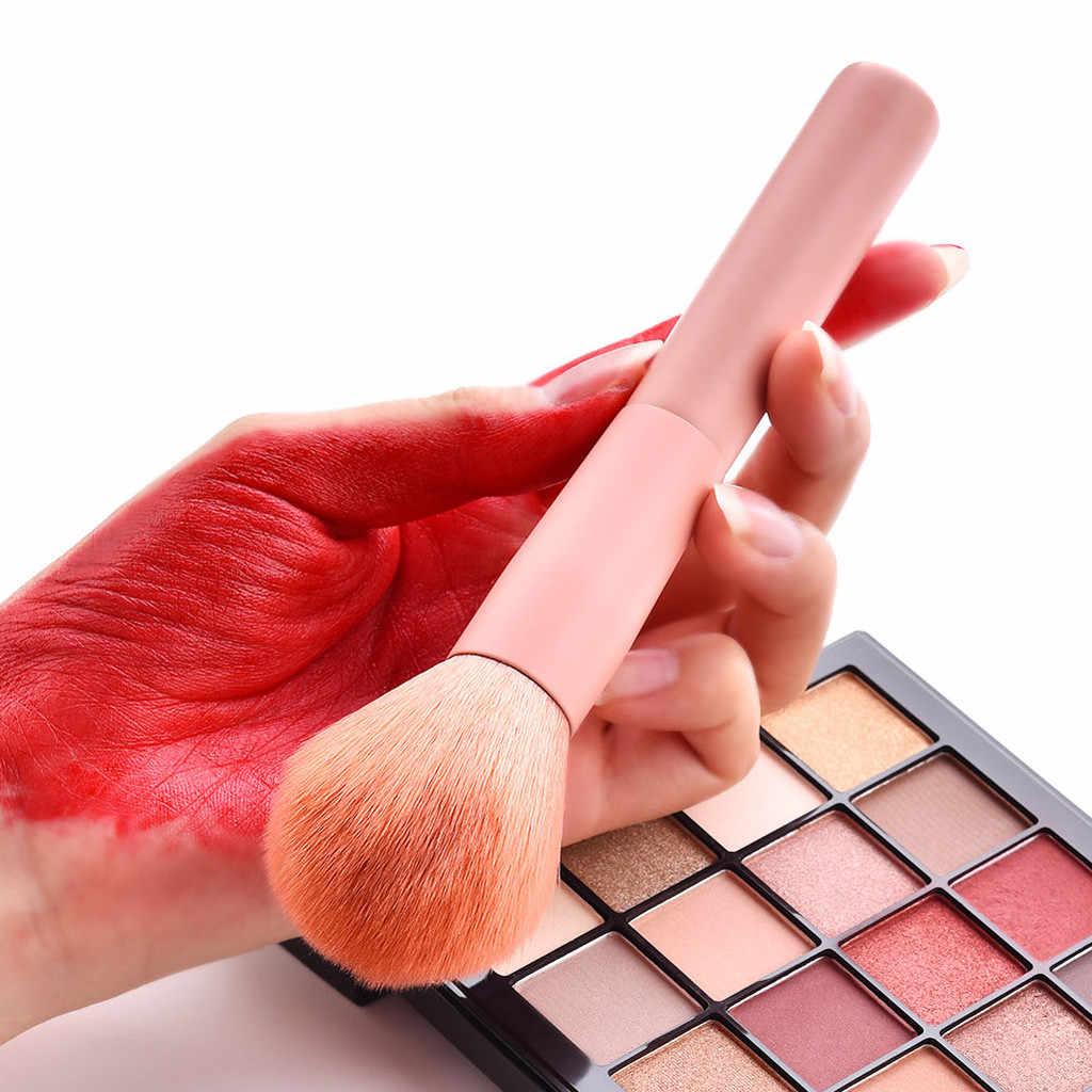 10 Pcs di Legno Prodotti di Base Cosmetico Sopracciglio Ombretto Pennello Spazzola di Trucco Set di Strumenti Multifunzione Pennello Cosmetico Pennello Make Up Strumenti