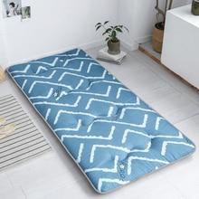 Подходит для студенческого общежития матрасы удобная ткань средней толщины складные Татами Коврики дышащая складная кровать продукт