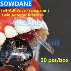 Tandheelkundige Zelfklevende Transparante Sectionele Voorgevormd Matrix Dental Orthodontische Twin Anterior Matrice Tandarts Polyester Matrices