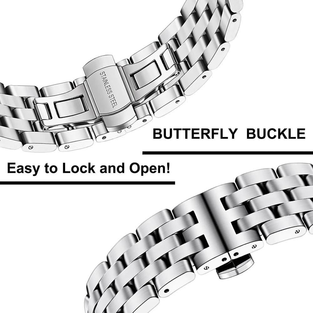 Купить ремешок для часов из нержавеющей стали xiaomi huami amazfit