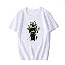 3D Skull Digital Printing White T Shirt Men Summer Customizable Cotton Funny Clown T-Shirts Vegeta Monkey Tshirt Cartoon Tops
