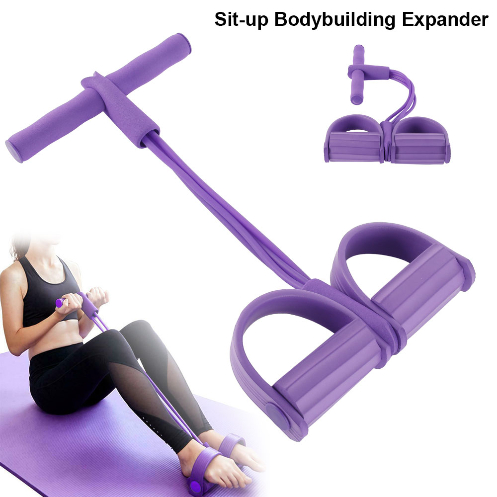 Resistance Bands and Remote Control//Watch Hop-Sport Vibration Exercise Machine Home Training Equipment for Weight Loss Whole Body Workout Vibration Fitness Platform with Foot Massage Mat