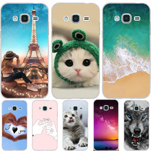 For Samsung Galaxy J3 2015 Case Silicon Ultra Thin Cover 2016 Phone Cases
