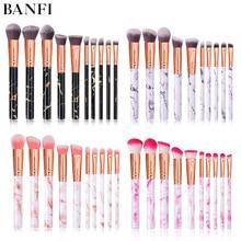 Makeup Brush Blush Brush 10pcs/set  for Cosmetic Powder Foundation Eyeshadow Lip Make up Brushes Set Beauty Tool Dropship недорого