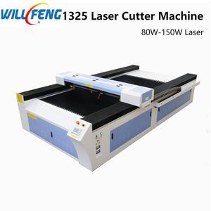 Image 1 - יהיה פנג 1325 Co2 לייזר חריטה וחותך מכונה 80 w 180 w לייזר T להב שולחן עבור לחתוך אקריליק MDF עץ ABS גיליון