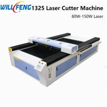 Will Feng 1325 Co2 Laser Engraving And Cutter Machine 80w 180w Laser T Blade Table For Cut Acrylic MDF Wooden ABS Sheet