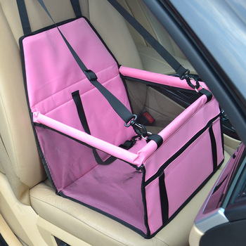 CAWAYI KENNEL Travel Dog Car Seat Cover Folding Hammock Pet Carriers Bag Carrying For Cats Dogs transportin perro autostoel hond 10