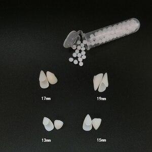 1 пара клыков для вампира, реквизит для зубных протезов, реквизит для костюма на хэллоуин, накладные зубы, клей для протезов, украшения для ве...