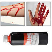 Blood Halloween Fake Wounds Body Paint Vampire Cosplay Body Makeup False Plasma Realistic Fake Blood Ultra-realistic