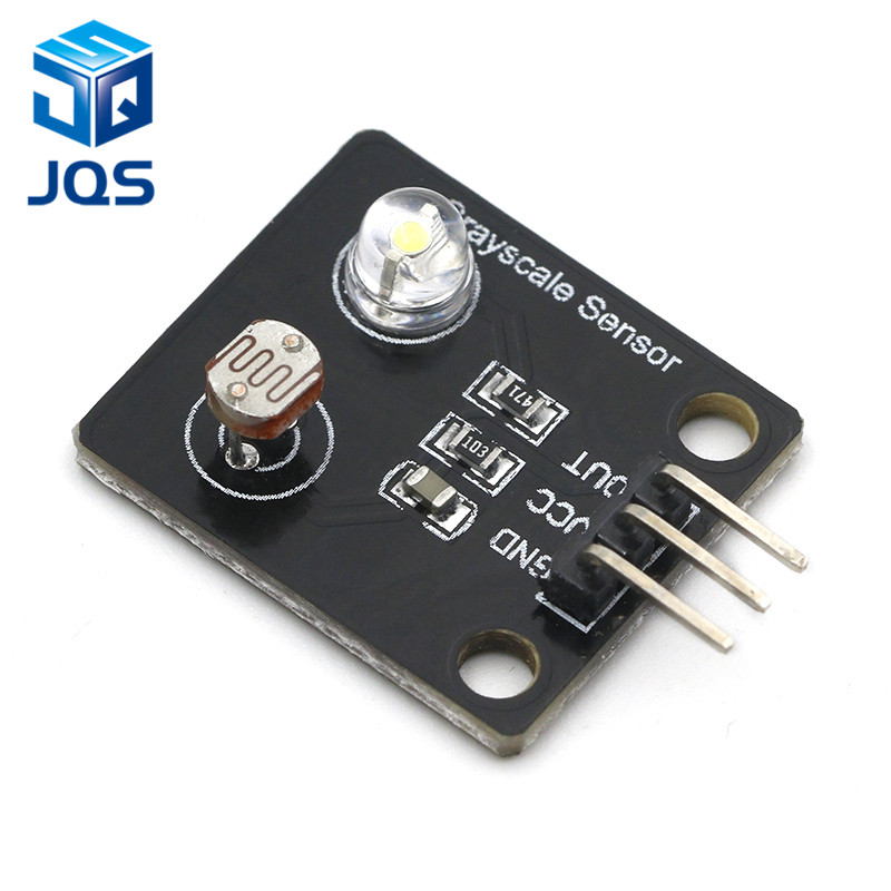 Photosensitive Resistor Light Sensor Analog Grayscale Sensor Electronic Board Line Finder Tracking Module For Arduino DIY Kit