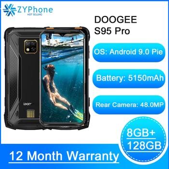 Перейти на Алиэкспресс и купить Модульный усиленный мобильный телефон Doogee S95 Pro, IP68/IP69K, 6,3-дюймовый дисплей, Helio P90 восемь ядер, тройная камера 48 МП, 8 Гб 128 ГБ