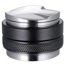 51mm espresso tamper & distribuidor, dupla cabeça café nivelador, profundidade ajustável-profissional espresso mão adulteradores promoção