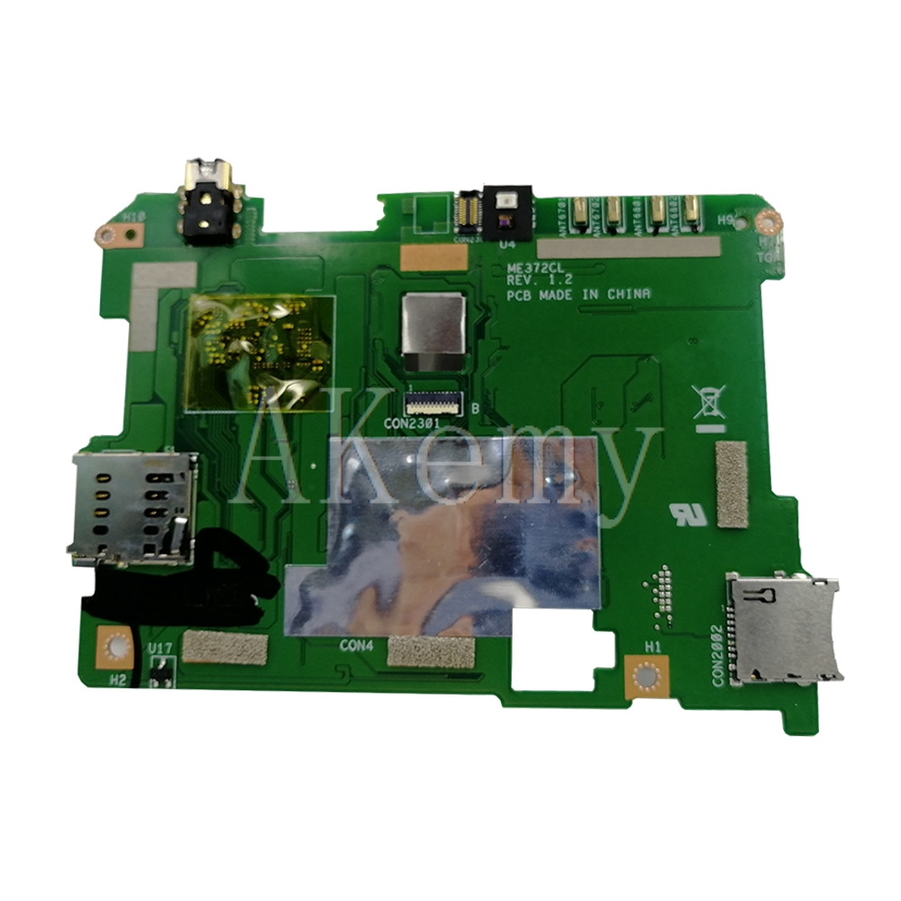 Neue original Für ASUS Fonepad 7 LTE ME372CL ME372C ME372 Tabletten Laptop motherboard mianboard logic board W/Z2560-CPU 8GB SSD