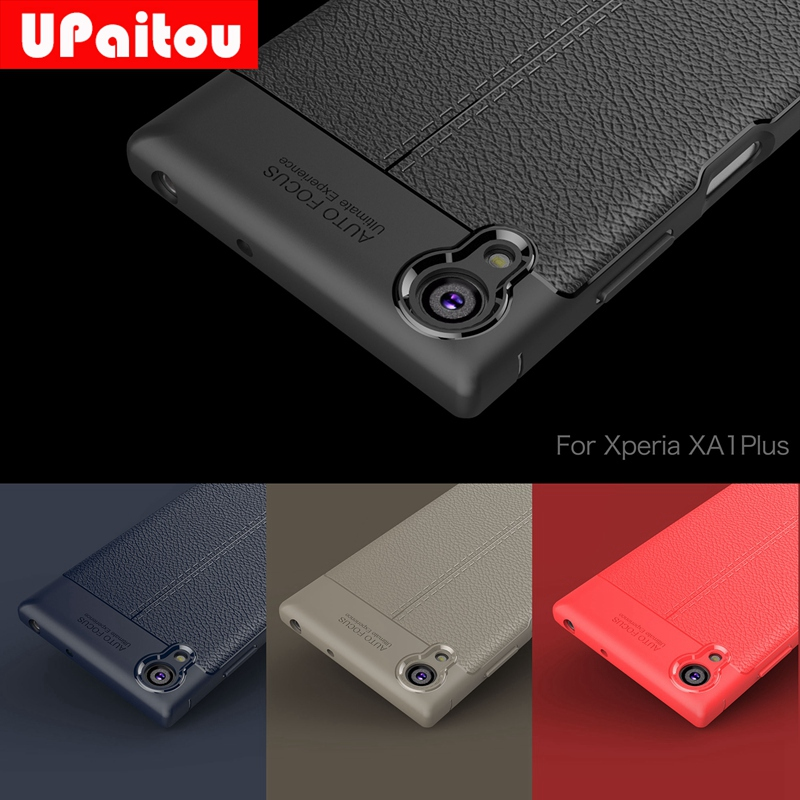 UPaitou Quality Soft TPU Case for Sony Xperia XA1 Plus Cover Silicon Case for Sony XA1 Plus G3412 G3421 G3423 G3416 Back Cover image