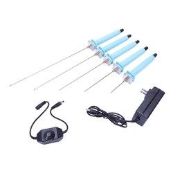 Us Plug  1 zestaw 5-25Cm maszyna do cięcia pianki pióro elektryczna maszyna do produkcji polistyrenu zestaw do cięcia narzędzia ręczny grawer Hot Knife Styrofoam
