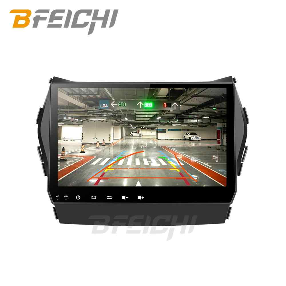 Android 9,0 coche dvd para Hyundai Santa Fe/ix45 2013, 2014 con 2 + 32G radio Estéreo gps navegación 2 din coche estéreo reproductor multimedia