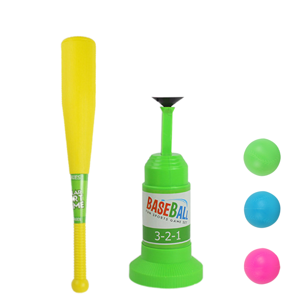 Activity Sports Game Training Kids Outdoor Children Baseball Toy Set Automatic Launcher Fitness Bat Safety Indoor Kindergarten