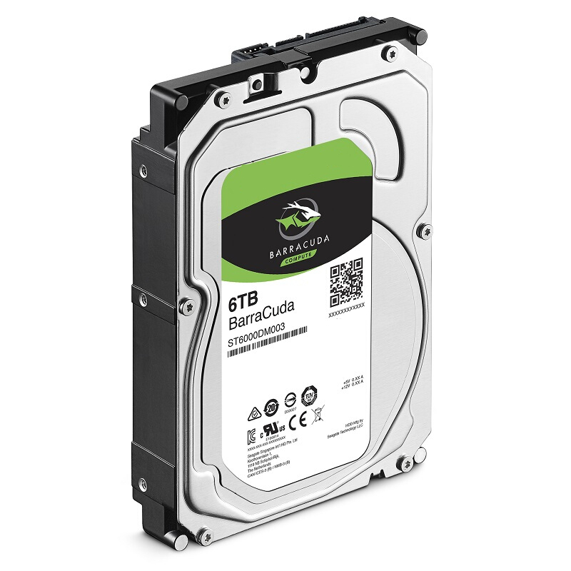 """New HDD For Seagate Brand BarraCuda 6TB 3.5"""" SATA 6 Gb/s 256MB 5400RPM For Internal HDD For surveillance HDD For ST6000DM003 3"""