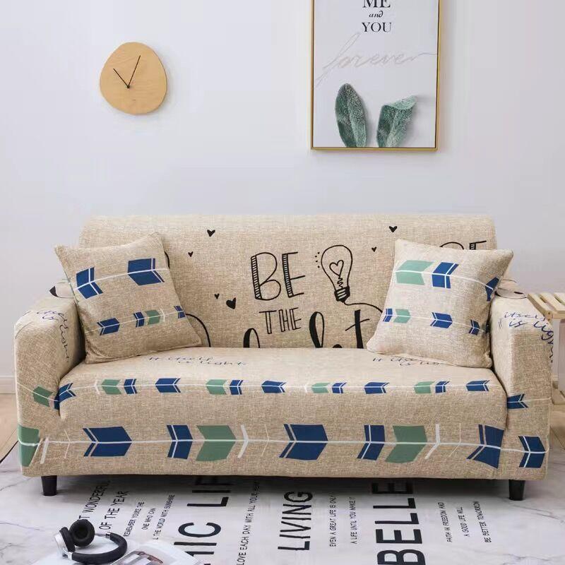 Пасторальные Листья Чехлы для диванов эластичные чехлы из спандекса