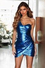 Mayata/сексуальное женское платье с блестками вечерние мини