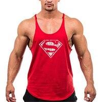 Camiseta sin mangas de entrenamiento para hombre, chaleco de gimnasio para Fitness y correr, musculación, sin mangas, entrenamiento de moda